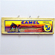 SALE Large Camel Advertising Sign