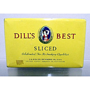 SALE Dills Best Flat Pocket Tin