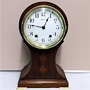 SALE Seth Thomas Inlaid Balloon Clock 100% Original And Fully Restored