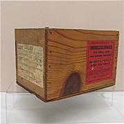 SALE Smokeless Gun Powder Advertising Box