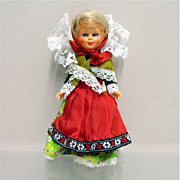 "SALE Souvenir Doll 7""  Tall"
