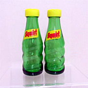 SALE Squirt Soda Bottles Salt and Pepper Shaker Set