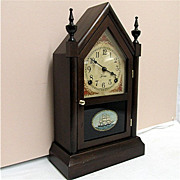 SALE Antique American Steeple Clock 100% Original And Completely Restored