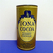 SALE IONA Cocoa Tin 2 Pound Size