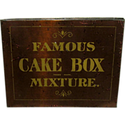 SALE Famous Cake Box Mixture Tobacco Tin