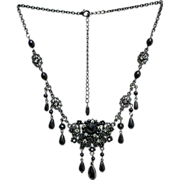 REDUCED Necklace Victorian Style Made by VCLM