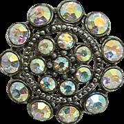 SALE Aurora  Circular Pin