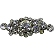 SALE Rhinestone Bar Pin