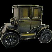 REDUCED Car Bank 1910 Baker Electric Car Cast Metal