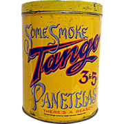 SALE TANGO Cigar Advertising Tin