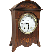 REDUCED Antique Seth Thomas Marquetry Mantel Clock 80 Other Clocks To Choose From