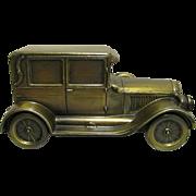REDUCED Car Bank Cast Metal  1924 Chrysler