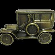 REDUCED Car Bank 1908 Cadillac Cast Metal