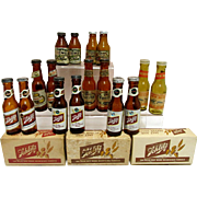 REDUCED Miniature Beer Bottle Salt and Pepper Shakers $16 a Set Your Choice