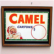 SALE Camel Cigarettes Framed Store Display 50% OFF
