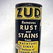 SALE Advertising Zud Cleanser