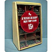 SALE Ever Sharp Advertising Display Case