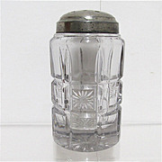 REDUCED Sugar Shaker 1908 American Glass