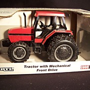 SALE PENDING Die Cast Case International Tractor with Mechanical Front Drive--Farm Toy