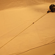 SOLD Vintage Ice Fishing Rod & Reel