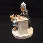 "SALE Vintage Sebastian miniature figurine titled ""The Penny Shop House of Seven Gables"""
