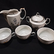 SALE RW Bavaria 5 piece China Set-Butterfly pattern