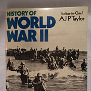 SALE History of World War 11 by Editor-in-Chief AJP Taylor--100's of ...