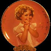 SALE Shirley Temple - PRECIOUS - Portrait Plate by Donald Zolan