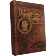 SALE Life and Deeds of General Sherman By Henry D. Northup c.1891