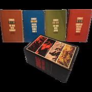 SOLD Combat: World War II (4 volume set in Slipcase) Paperback – First Printing Oct. 1966