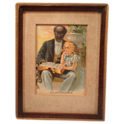SALE Print of Eva and Uncle Tom