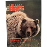 SALE Grizzly Bears -Hardcover Book - Illustrated, 1990 Edition