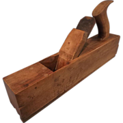 SALE Vintage Barry & Way Wood Tongue Plane - Woodworking Tool - 1842-1847