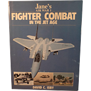 SALE Jane's,  Air War 1, Fighter Combat in the Jet Age, (Hardcover) by David ...