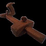 SALE Panel Gauge - Scribing Knife - Marking Tool -  14 inch beam - Woodworking Tool