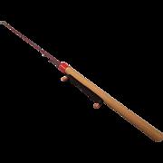 SALE Vintage Ice Fishing Rod