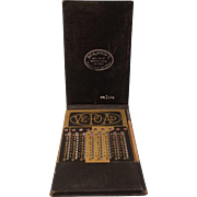 SALE Vintage Ve-Po-Ad Adder (Vest  Pocket  Adding Machine-Calculator)