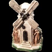 SALE Vintage Carnival Chalkware Windmill