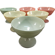 SALE Set of Six Moderntone Sherbet/Dessert Dishes