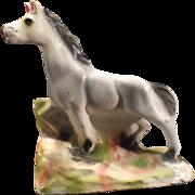 SALE Vintage Carnival Chalkware Pony - 1945