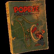 SALE Popeye in deep-sea danger (A big little book) Paperback – 1980 by Paul ...