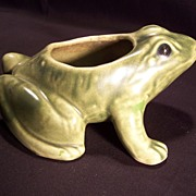 SALE Frog Planter by Brush Pottery Co.