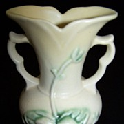 SALE Hull Woodland Vase, No. W-1,  5 1/2