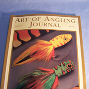 SALE PENDING Art of Angling Journal, Issue 1--Volume 3, Outstanding Illustrations