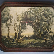SOLD Morning, Dance of the Nymphs ,Vintage Print