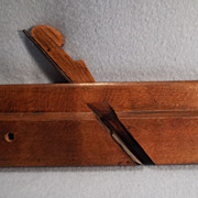 "SALE Round 1 1/4"" Wood Moulding plane  stamped L. & I. J. White, Buffalo, c ..."