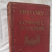SALE The History of Company C, 57th Engineers,  during the World War 1918-1919 is ...