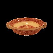 SALE Mason's Vista Pink Red Transferware Two Handle Soup Bowl