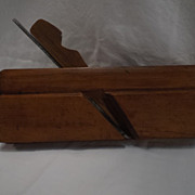 "SALE Roxton Pond  7/8"" Round Plane by  A. Monty--Woodworking Tool"