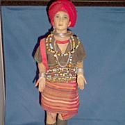 """Vintage Thailand Doll """"Karen"""""""